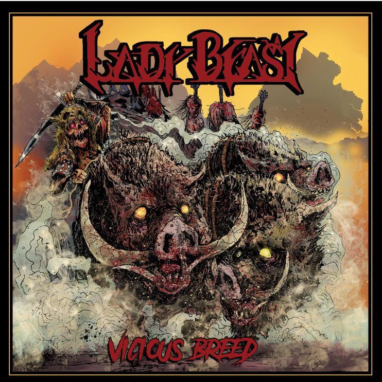 LADY BEAST Vicious Breed (2017) Heavy Metal USA 21192210