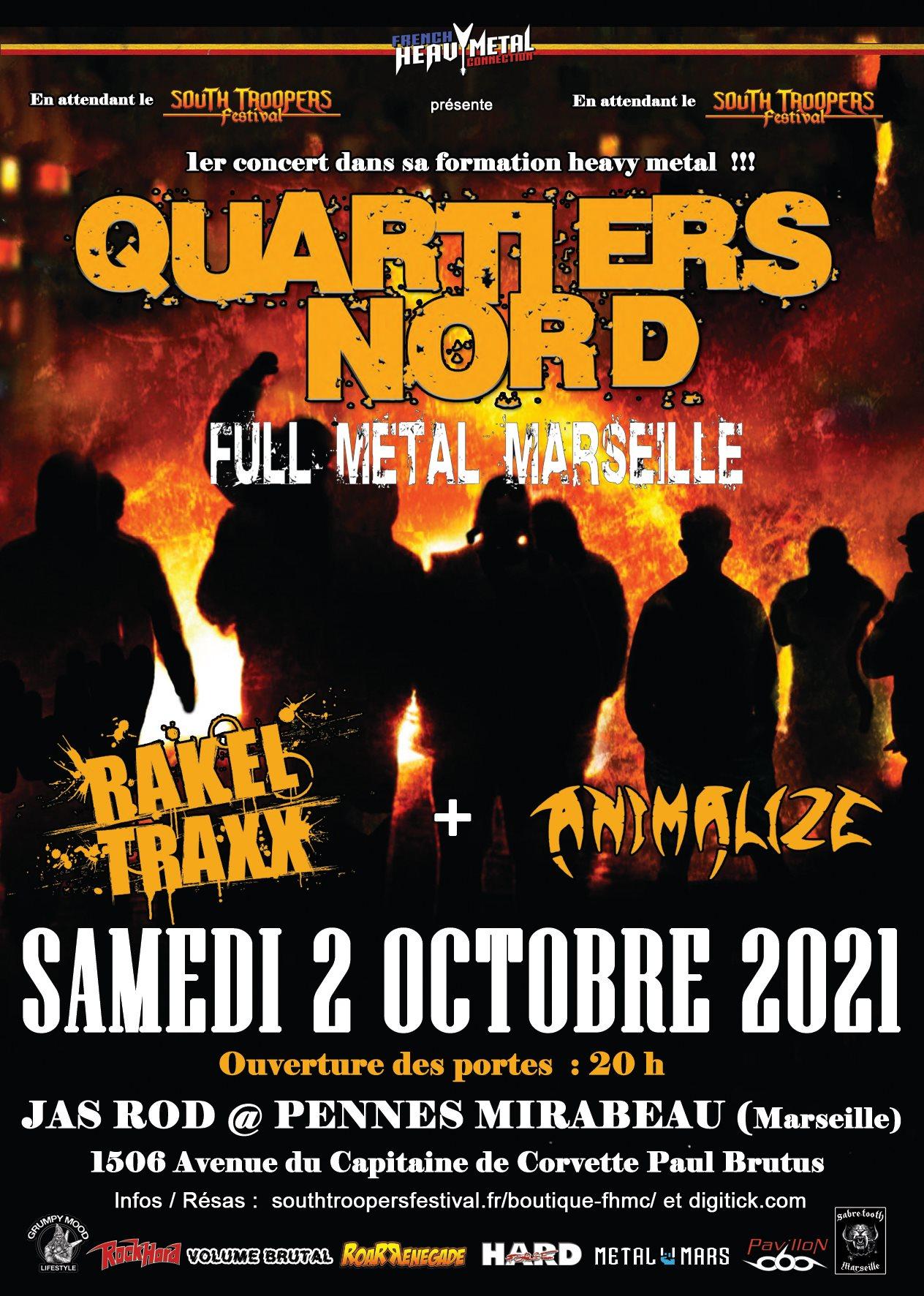 QUARTIERS NORD Full Métal Marseille (2021) Hard-Rock Marseille 21475910