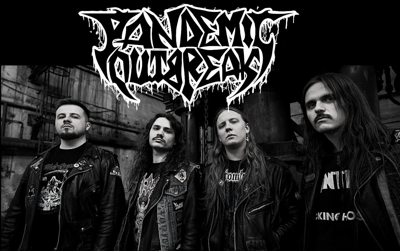 PANDEMIC OUTBREAK Skulls Beneath the Cross (2021) Thrash/Death Metal POLOGNE 21745410