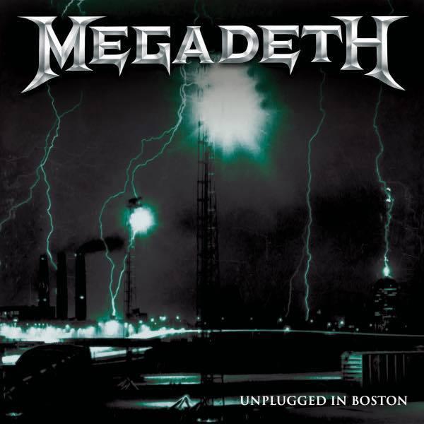 "MEGADETH va sortir un concert ""Unplugged In Boston"" (2021) U.S.A 21844210"