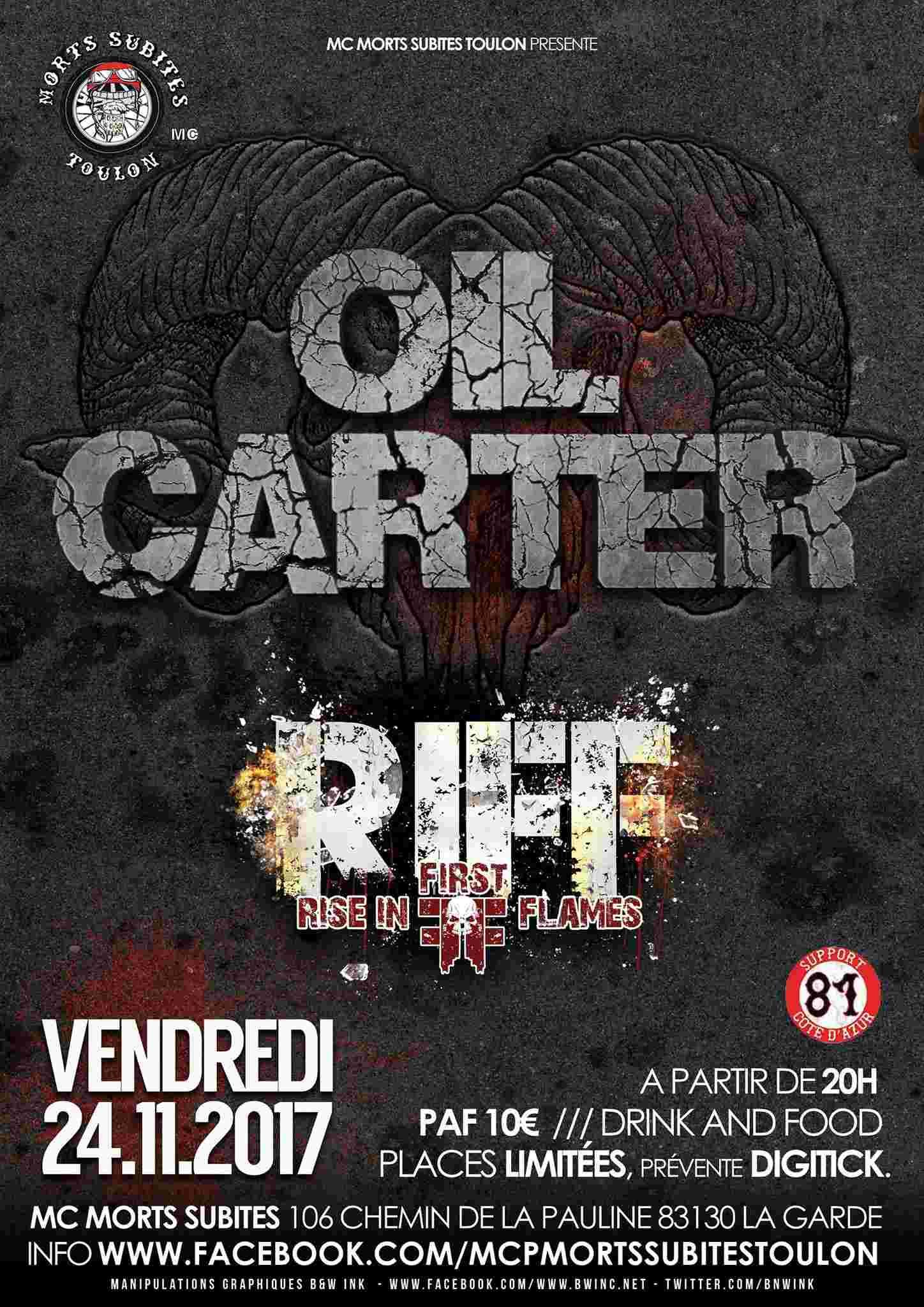 OIL CARTER (Toulon) dans son hommage pour LEMMY ... 22135610