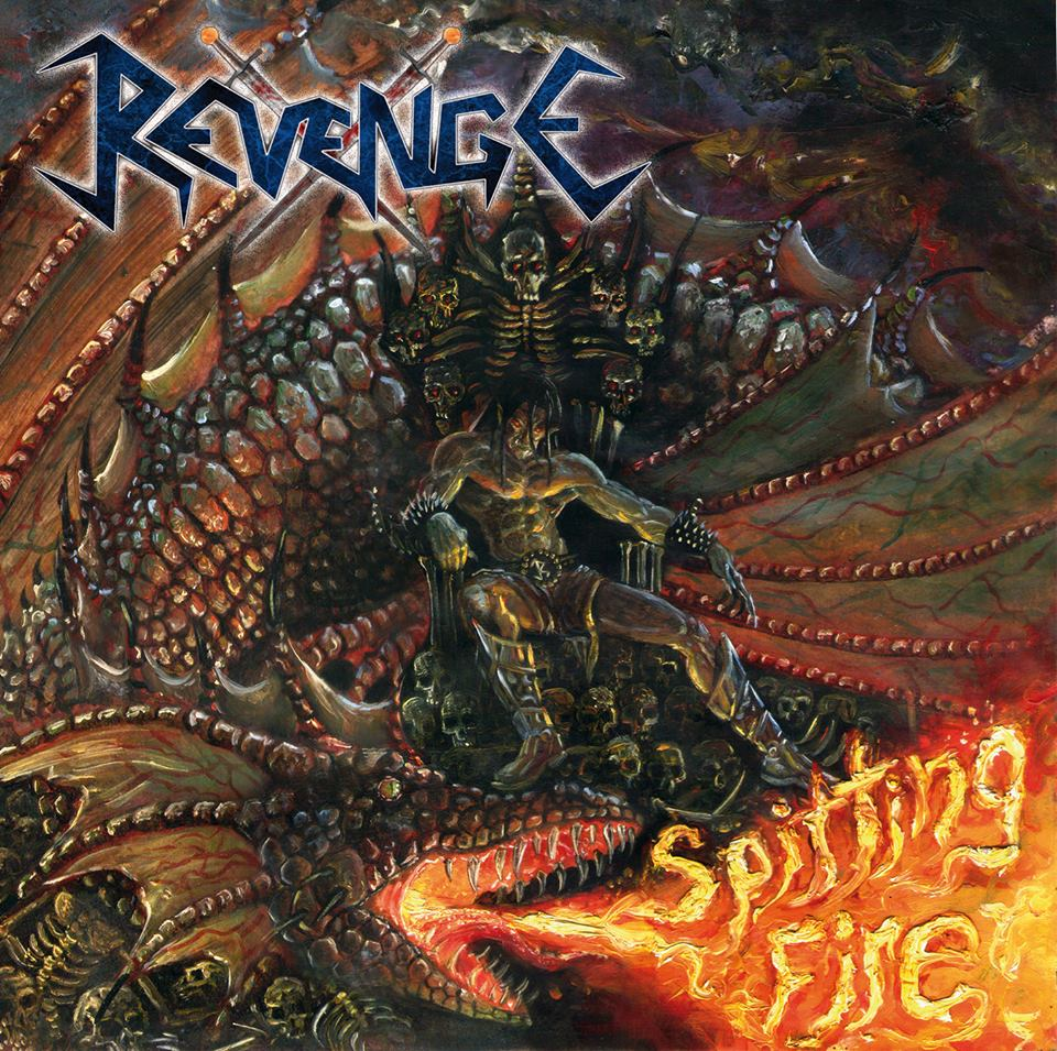 REVENGE Spitting Fire (2017) Speed Metal COLOMBIE 22154210