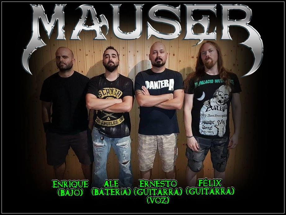 MAUSER Colgar Al Ladrón (2018) Heavy/Thrash ESPAGNE 22196010