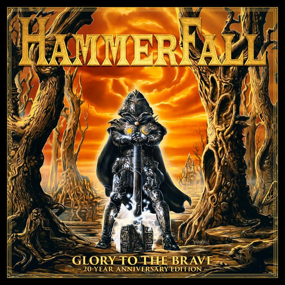 HAMMERFALL Glory To The Brave (20 Year Anniversary Edition) CD + DVD (1997-2017) 22196110