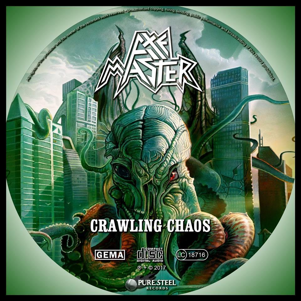 AXEMASTER Crawling Chaos (2017) Heavy Metal USA 22196211
