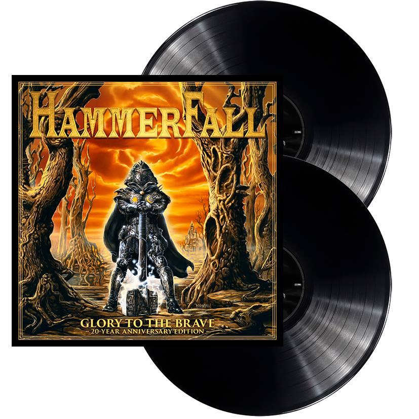 HAMMERFALL Glory To The Brave (20 Year Anniversary Edition) CD + DVD (1997-2017) 22279410