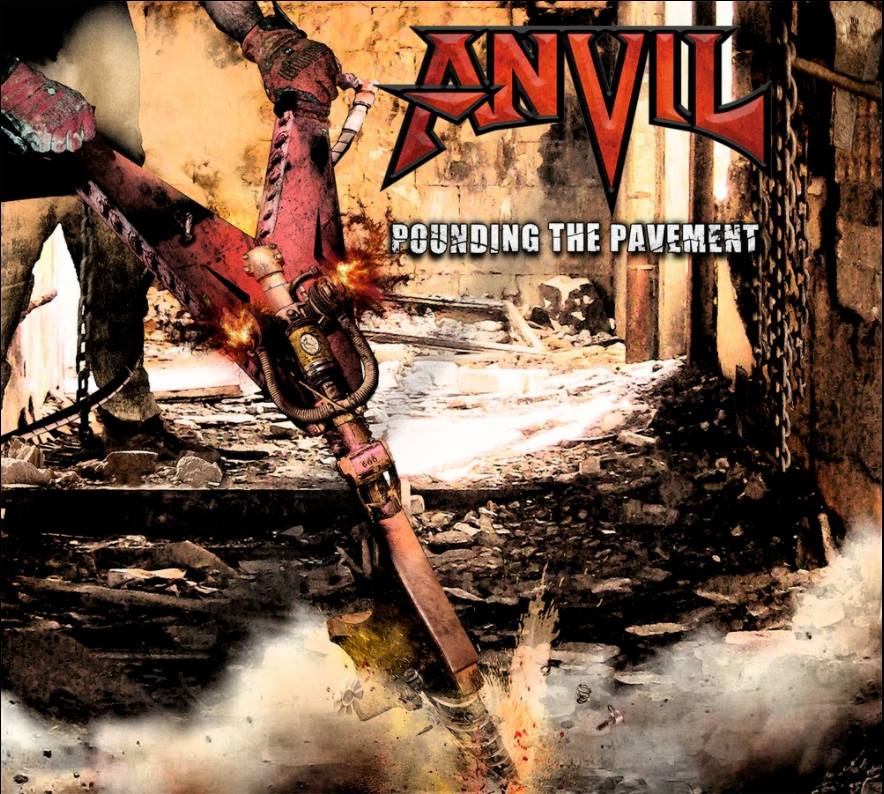 ANVIL Pounding The Pavement (2018) Heavy Metal CANADA 22540210