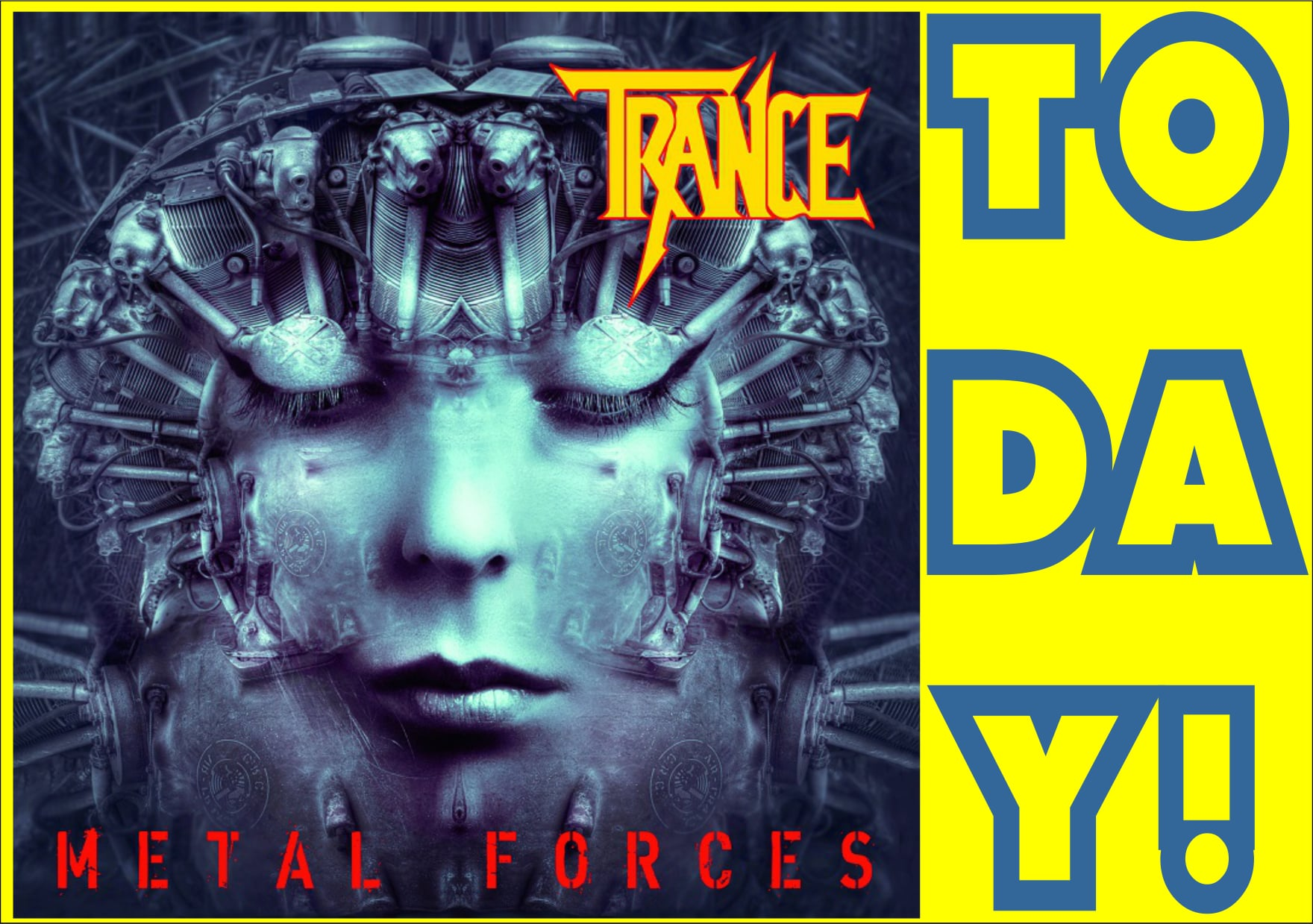 TRANCE Metal Forces (2021) Heavy Metal Allemagne 22852610