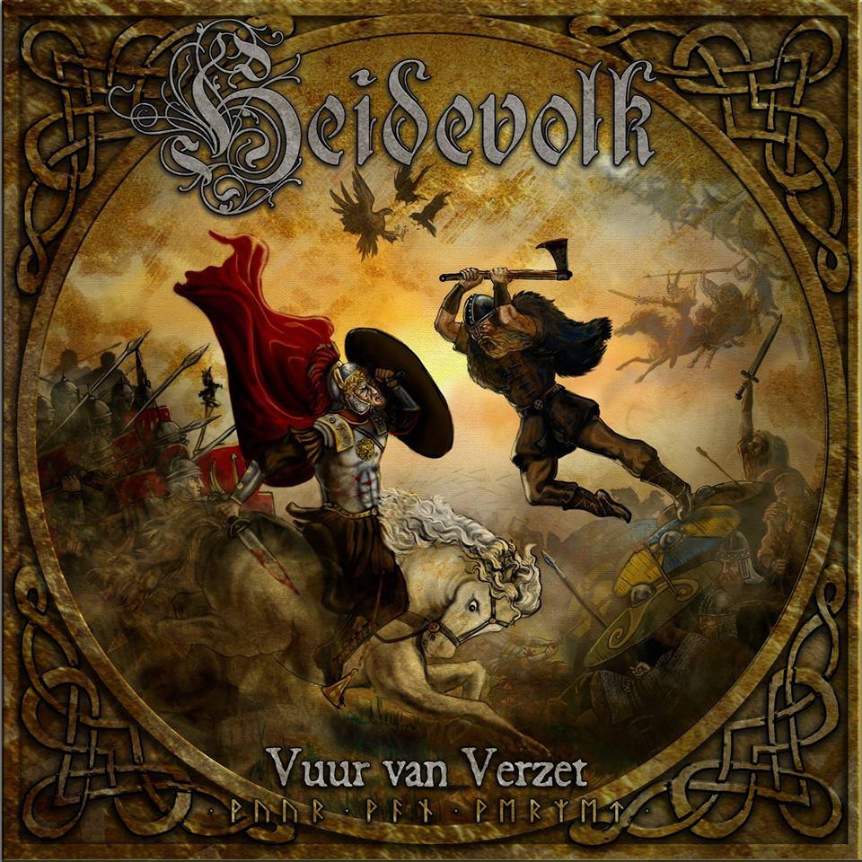 HEIDEVOLK Vuur Van Verzet (2018) Folk Metal HOLLANDE 22886212