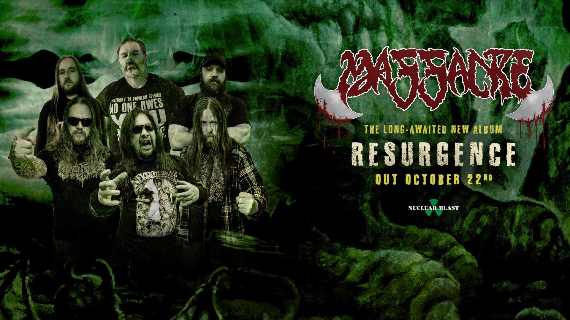 MASSACRE Resurgence (2021) Death Metal USA 23135510