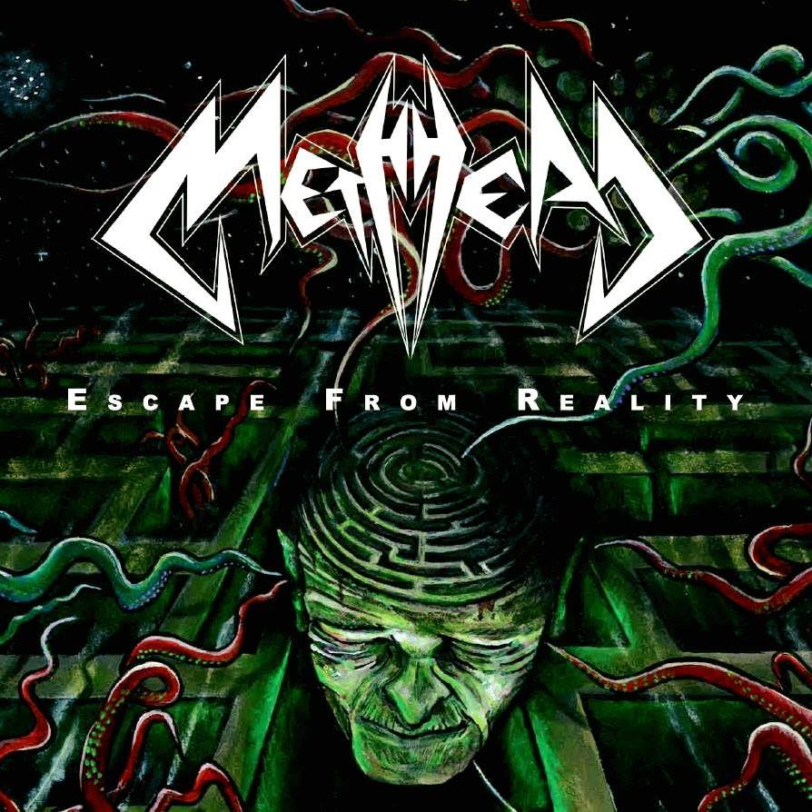 METHHEAD Escape From Reality (2017) Thrash ALLEMAGNE 23244310