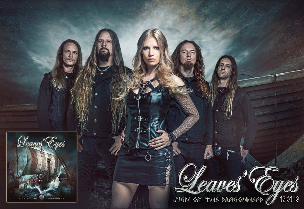 LEAVES 'EYES Sign of the Dragonhead (2018) Metal Symphonic  23275310