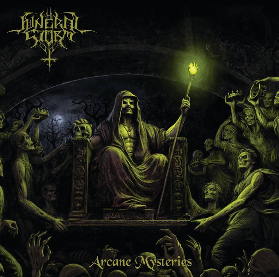 FUNERAL STORM Arcane Mysteries (2019) Black Metal Grèce 23559910