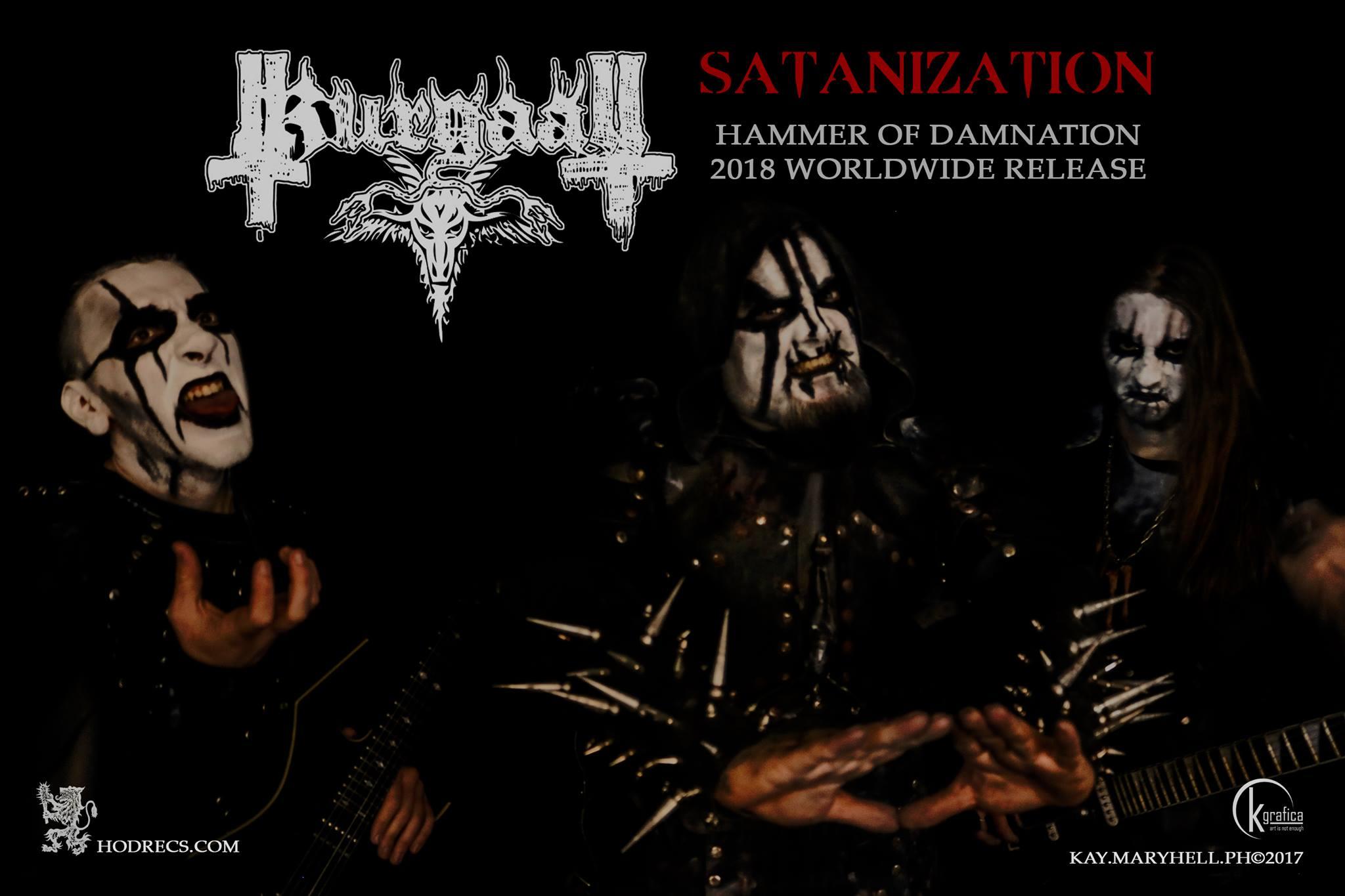 KURGAALL Satanization (2018) Nouveau clip Black Metal ITALIE 23632610