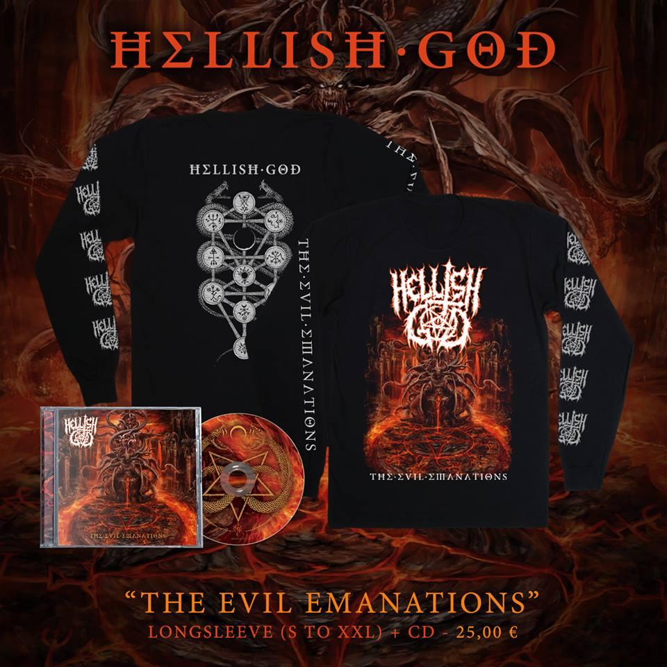 HELLISH GOD Tagimron Is Summoned (2018) Death Metal ITALIE 23843010