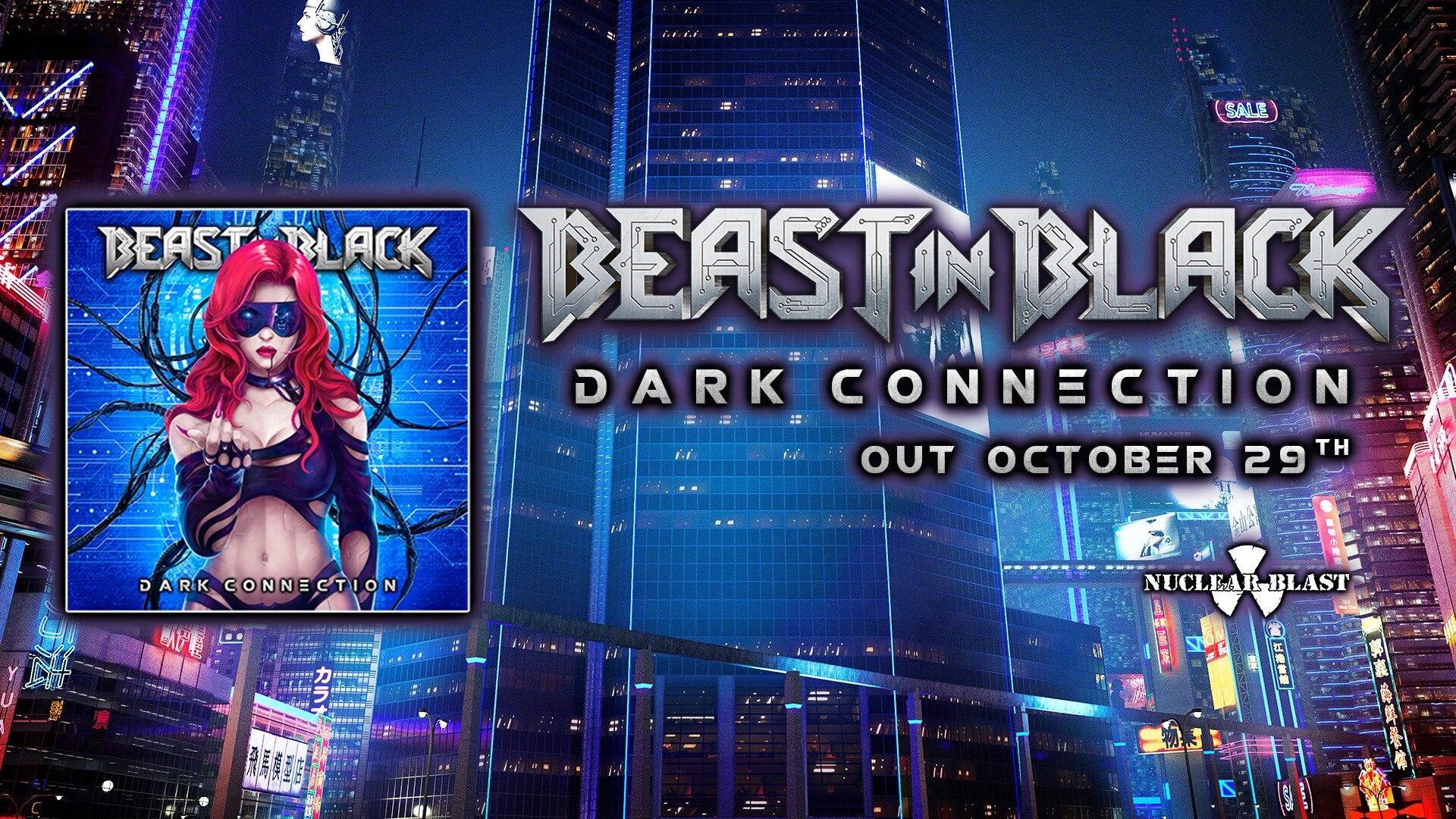 BEAST IN BLACK Dark Connection (2021) Heavy Metal Finlande 24039110