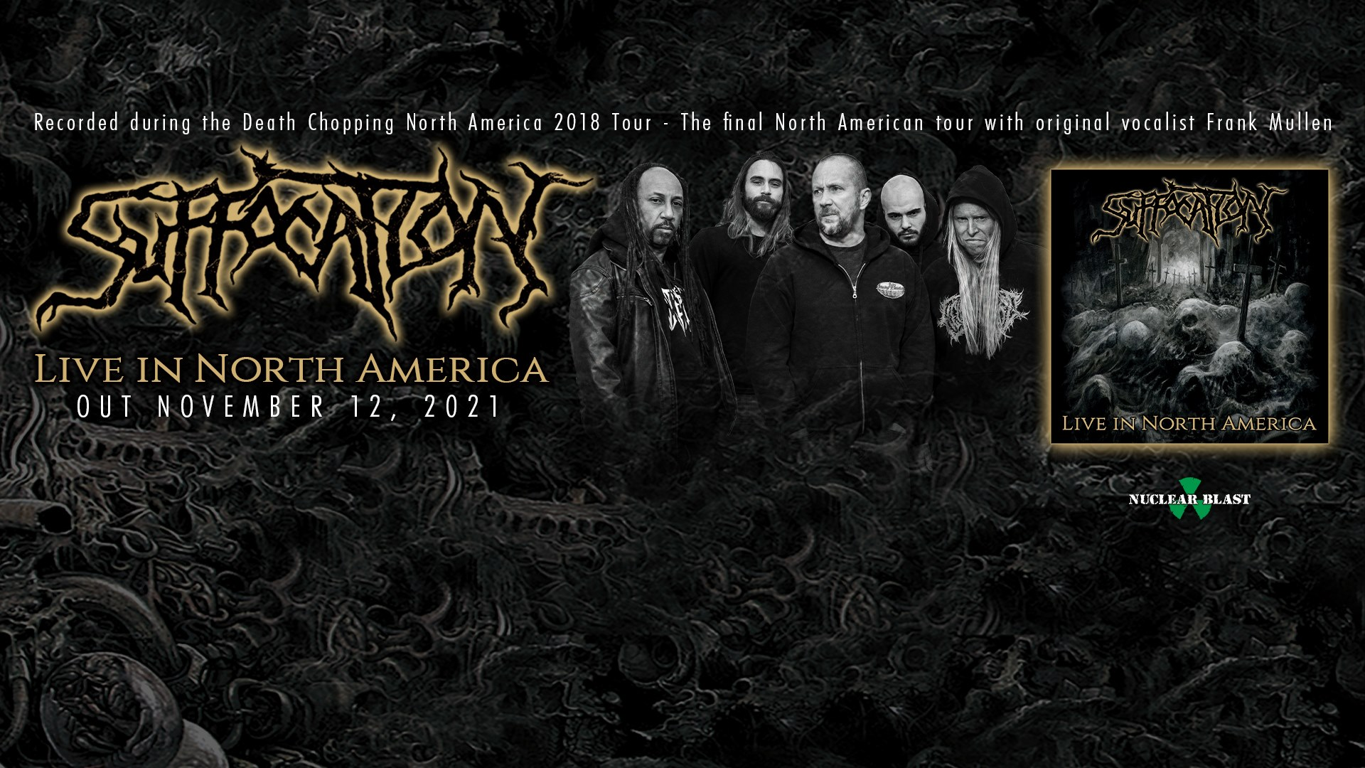 SUFFOCATION Live In North America (2021) Brutal Death Metal  U.S.A 24175410