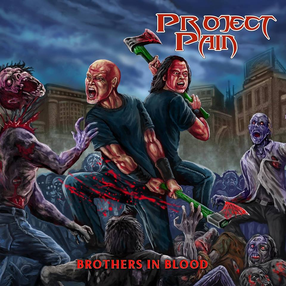 PROJECT PAIN Brothers In Blood (2018) Thrash Hollande 24301210