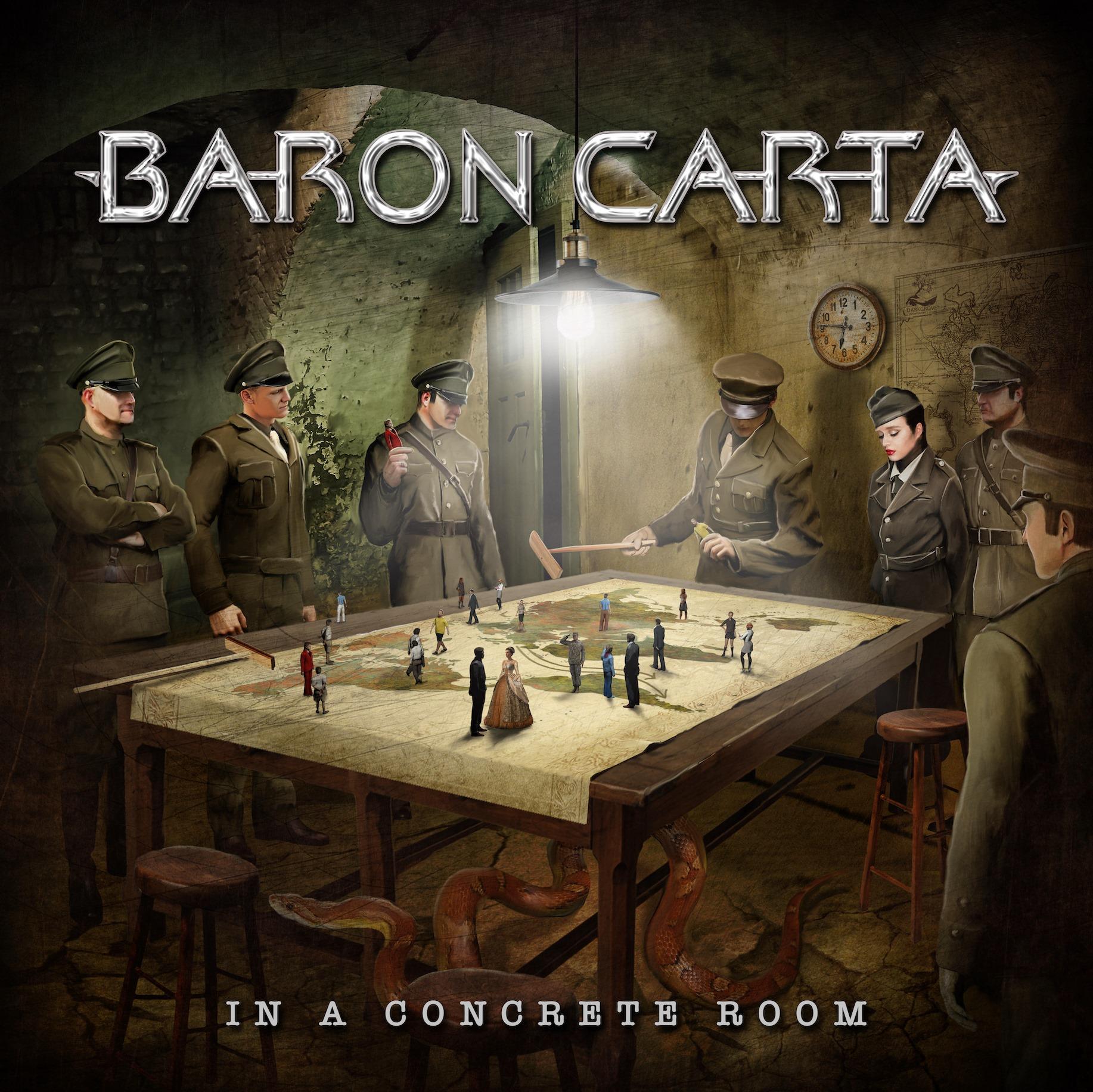 BARON CARTA In a Concrete Room (2021) Thrash/Heavy Allemagne, Danemark 24312410