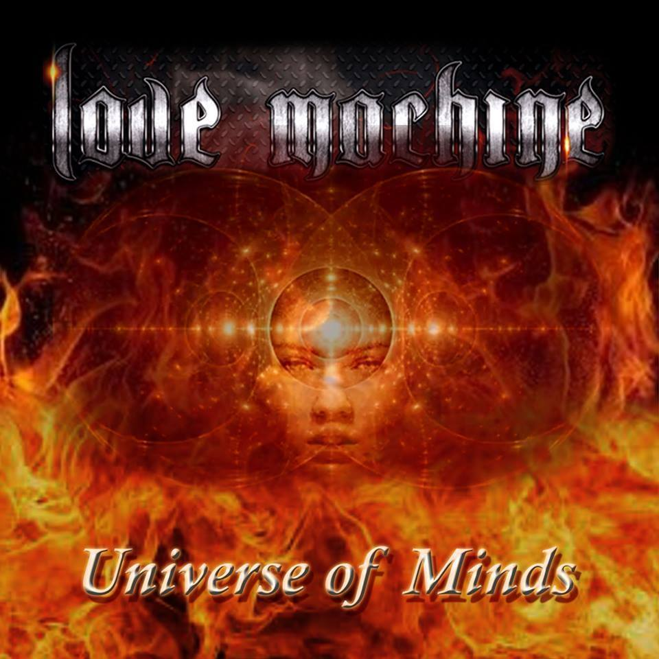 LOVE MACHINE Universe Of Minds (2018) Heavy Metal ITALIE 24899710