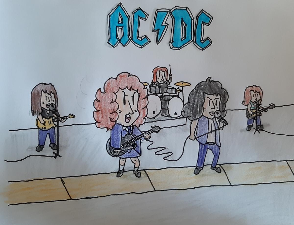 AC/DC célèbre l'anniversaire de HIGHWAY TO HELL (40 ans) avec des vidéos historiques ... 250