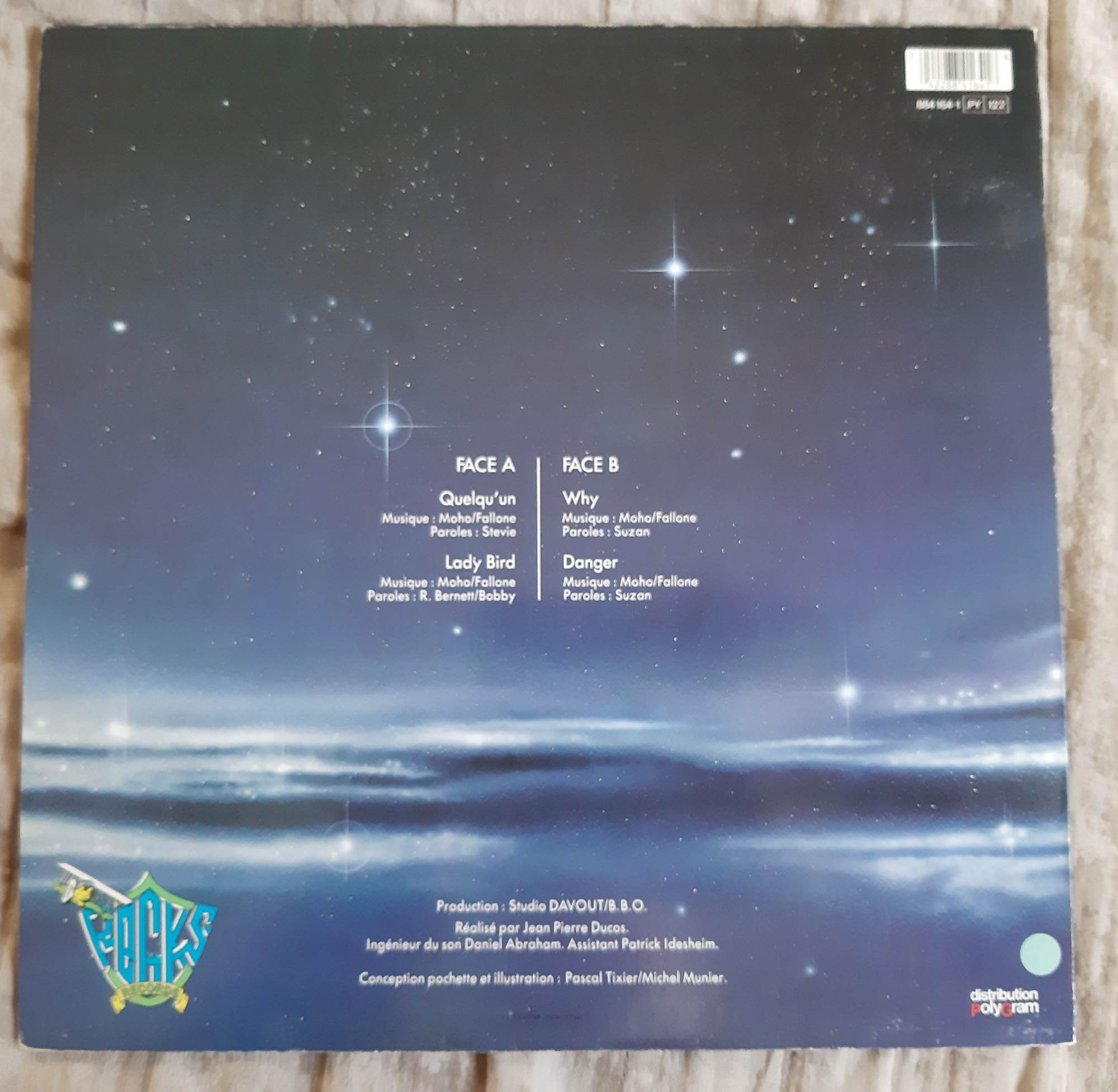 MORHO Morho (1985) Maxi 45 tours - le vinyle vu de plus près ...   253