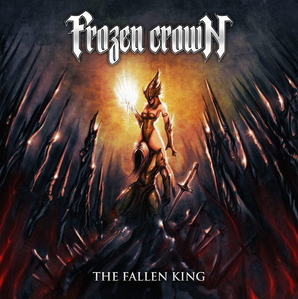 FROZEN CROWN The Fallen King (2018) Heavy Metal Portugal (Front Woman) 25396010