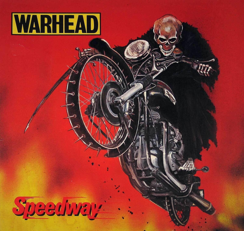 WARHEAD Speedway (1984/2021) Belgique Réédition Speed Metal Belgique  26053910