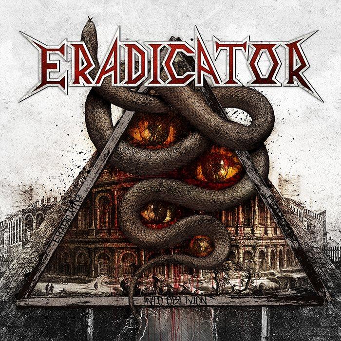 ERADICATOR Into Oblivion (2018) Thrash ALLEMAGNE 26112010