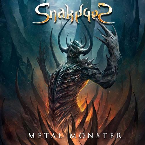 SNAKEYES Metal Monster (2017) Heavy-Métal ESPAGNE 26220011