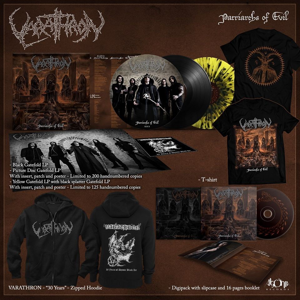 VARATHRON Patriarchs Of Evil (2018) Black Metal Nouveau clip vidéo ... 26907310