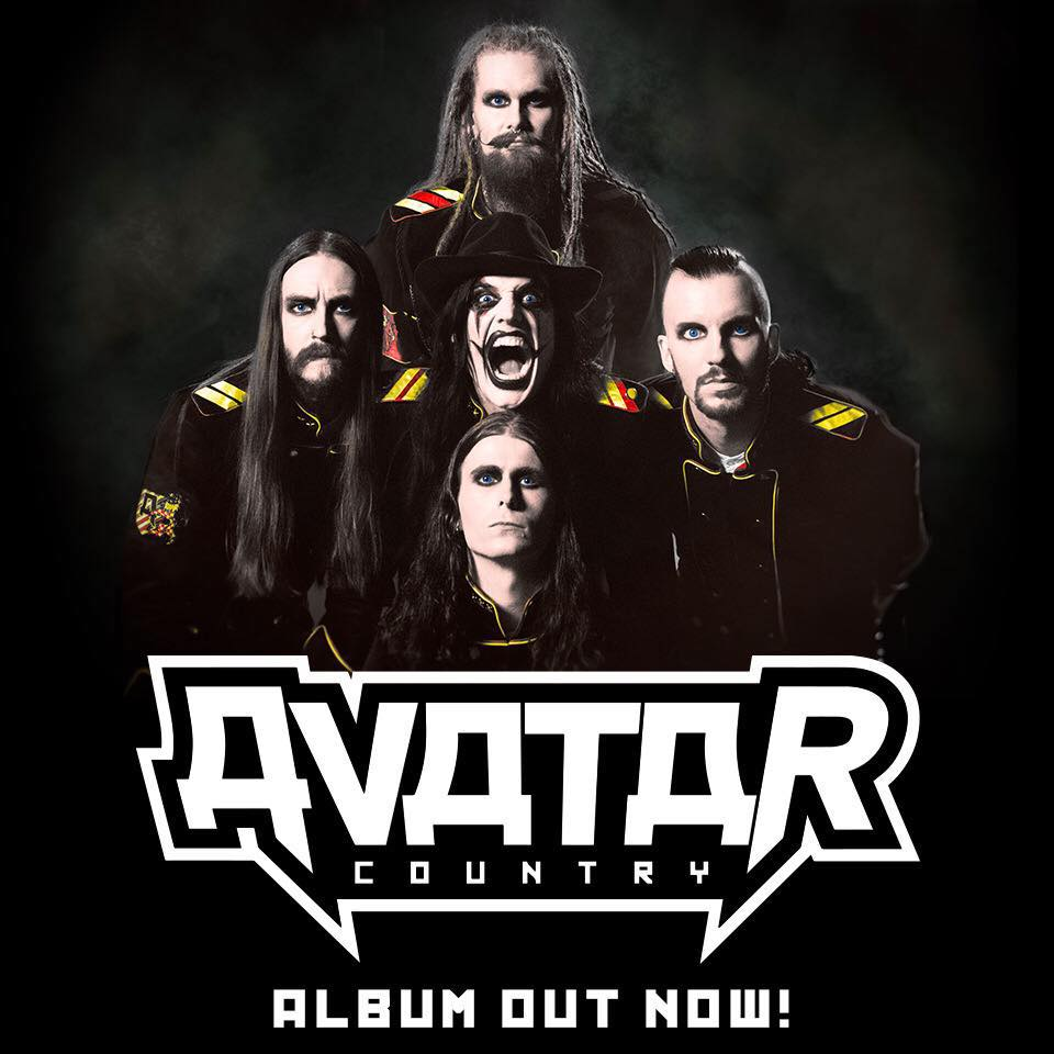 AVATAR The King Live In Paris (2019) Metal Suède 26992110