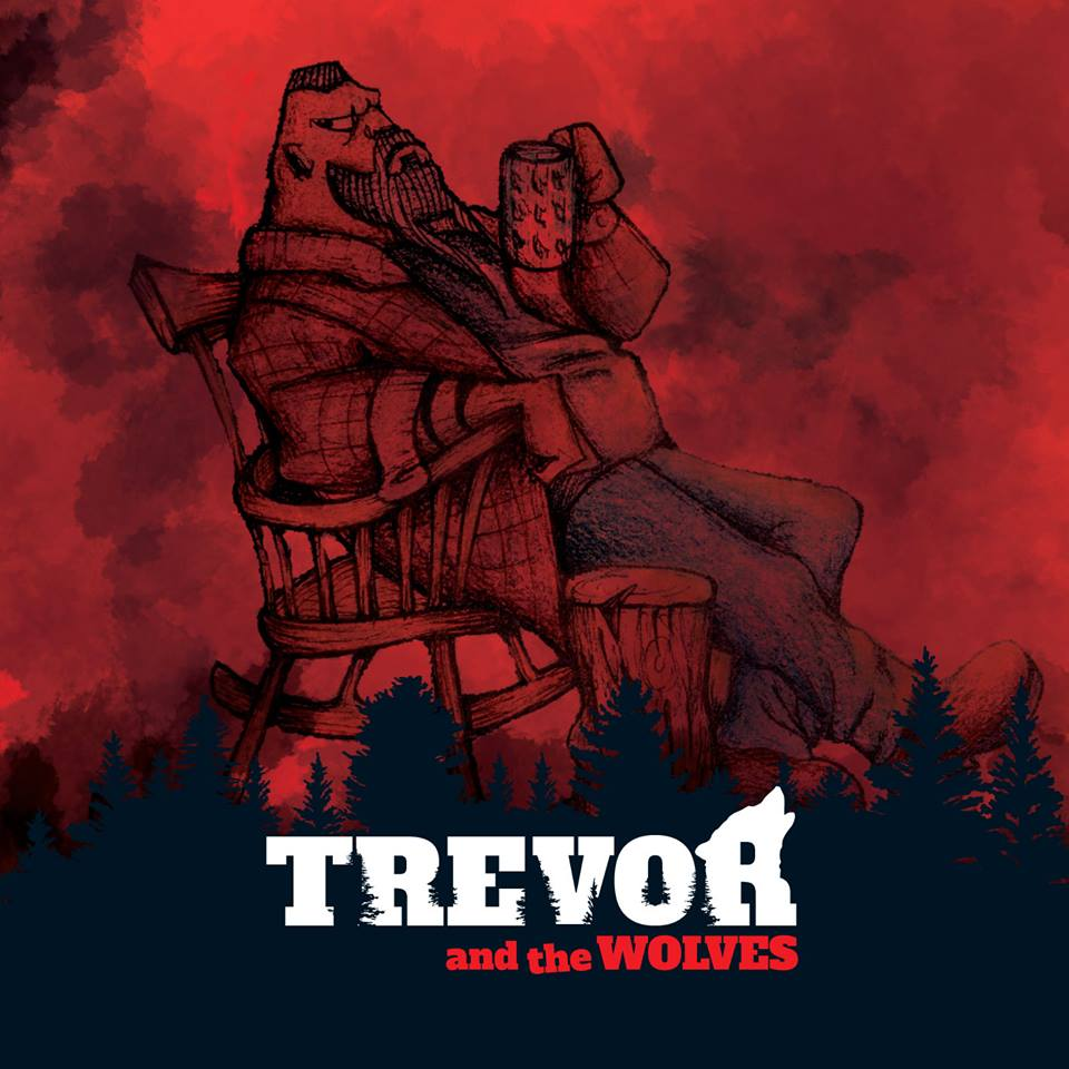 TREVOR AND THE WOLVES Road To Nowhere (2018) Hard Rock qui frise le AC/DC ITALIE 27331910