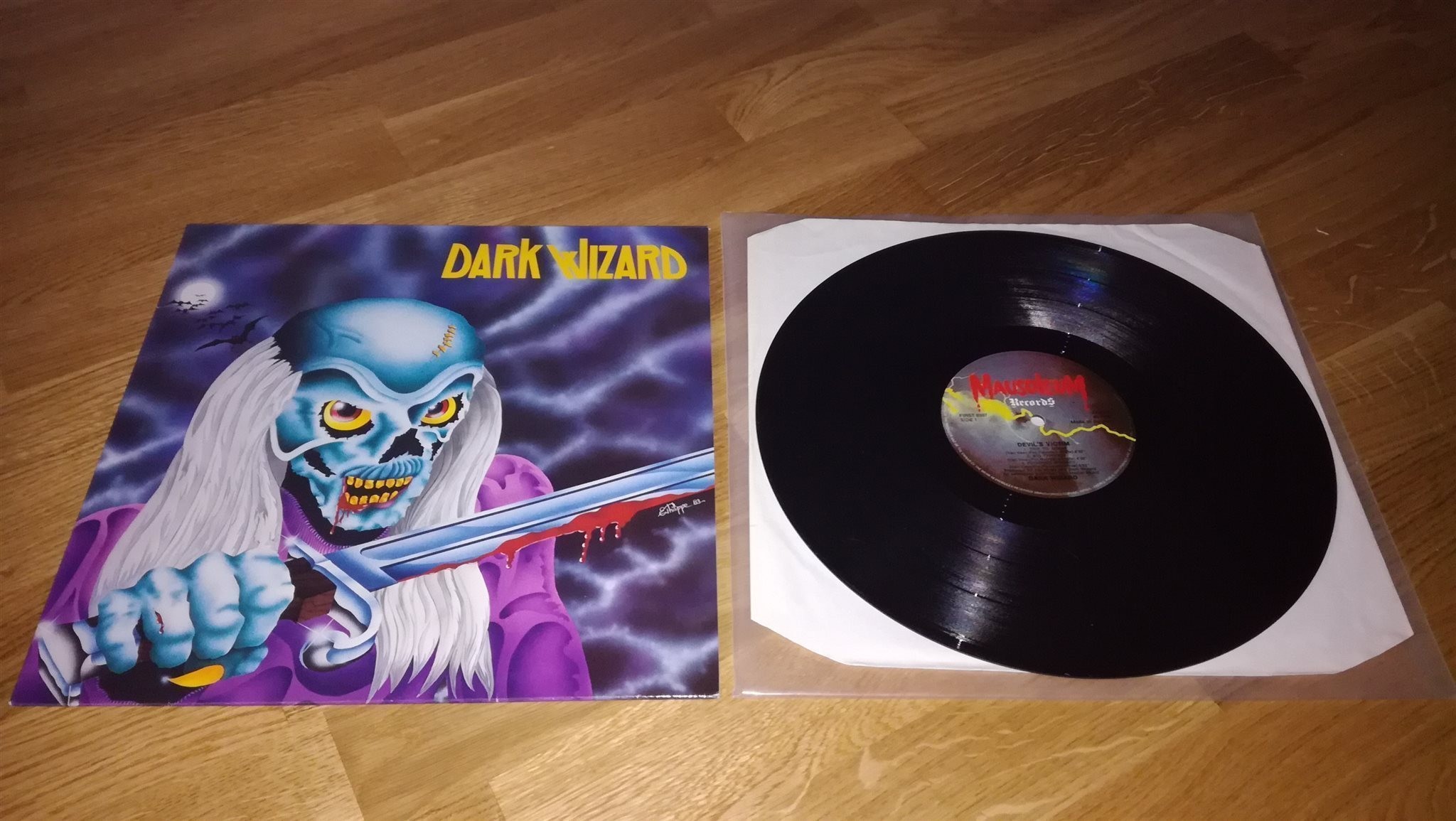 Dark Wizard - Devil's Victim (ep) - 1984 - Pays-Bas 27400810