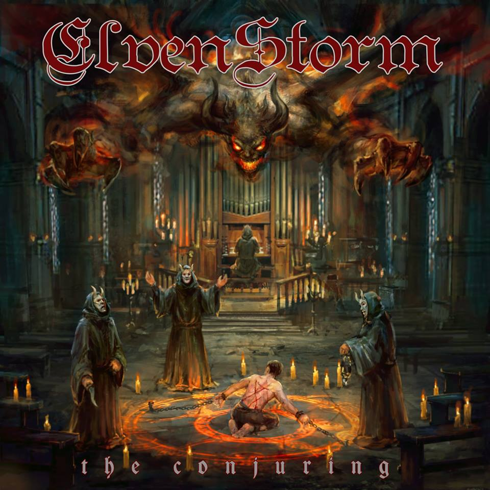 ELVENSTORM The Conjuring (2018) Heavy Metal (Grenoble) 27459010