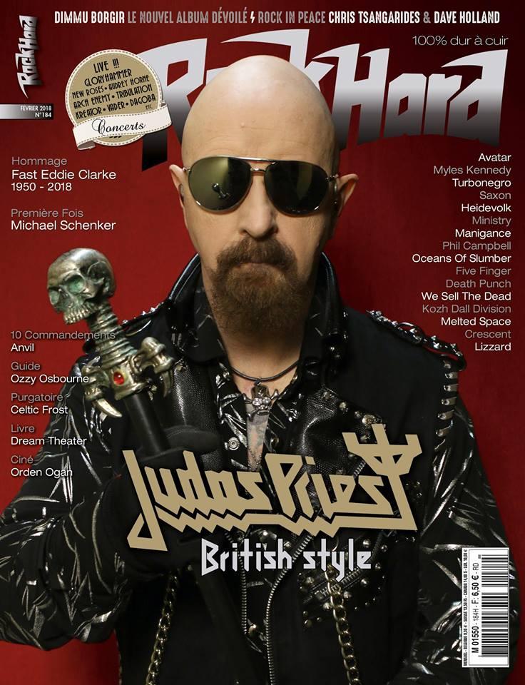 ROCK HARD Mag n°184 Février 2018 27545410