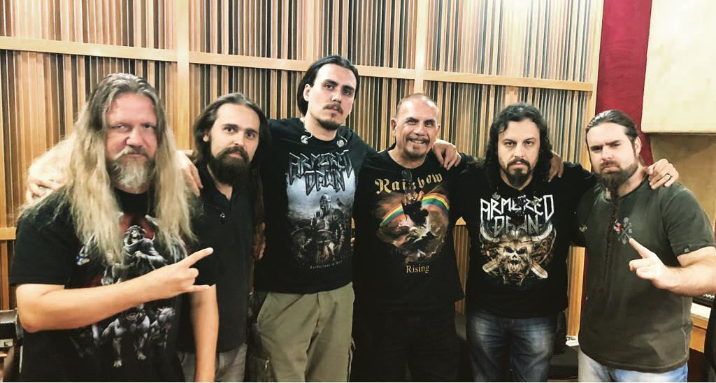 ARMORED DAWN Sail Away (2018) Nouveau clip Heavy Metal Brésil 27629310