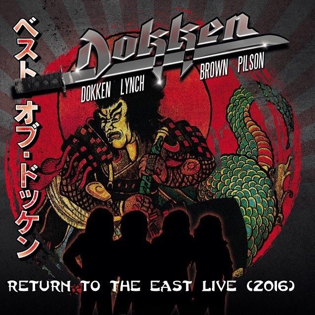 DOKKEN 'Return to the East Live 2016 (Limited Box Set CD et DVD) (2018) Heavy Metal U.S.A  27972010
