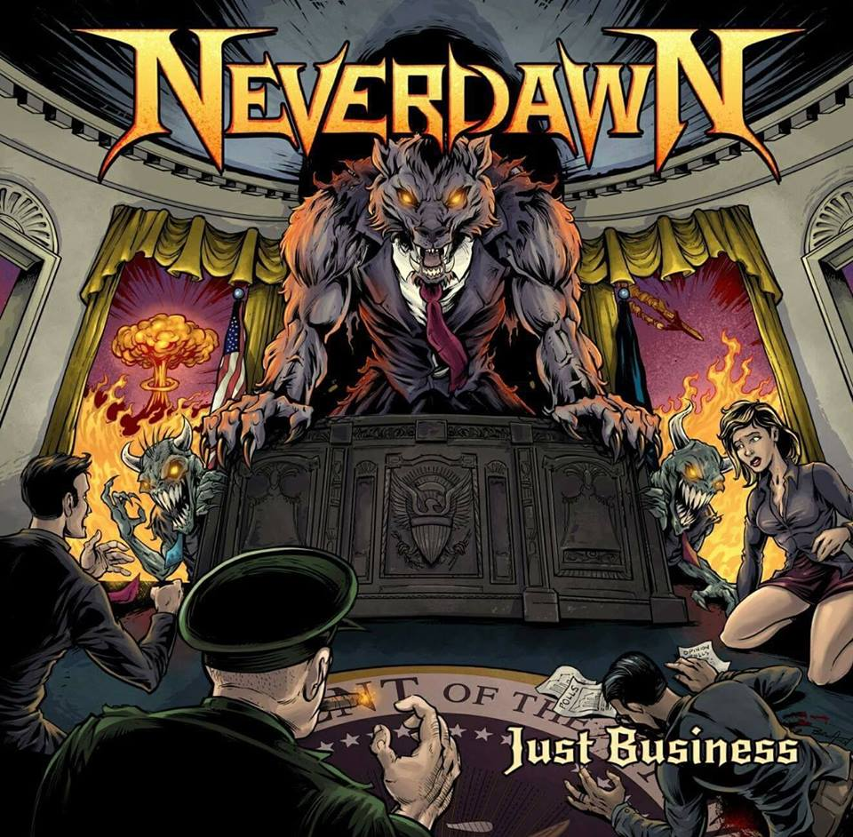 NEVERDAWN Just Business (2018) Heavy/Thrash USA 27973710