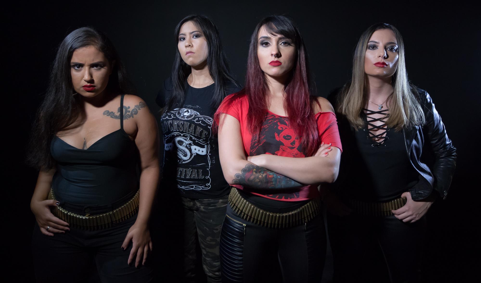 SINAYA Abyss to Death (2018) Nouveau clip de death/thrash des brésiliennes 28070510