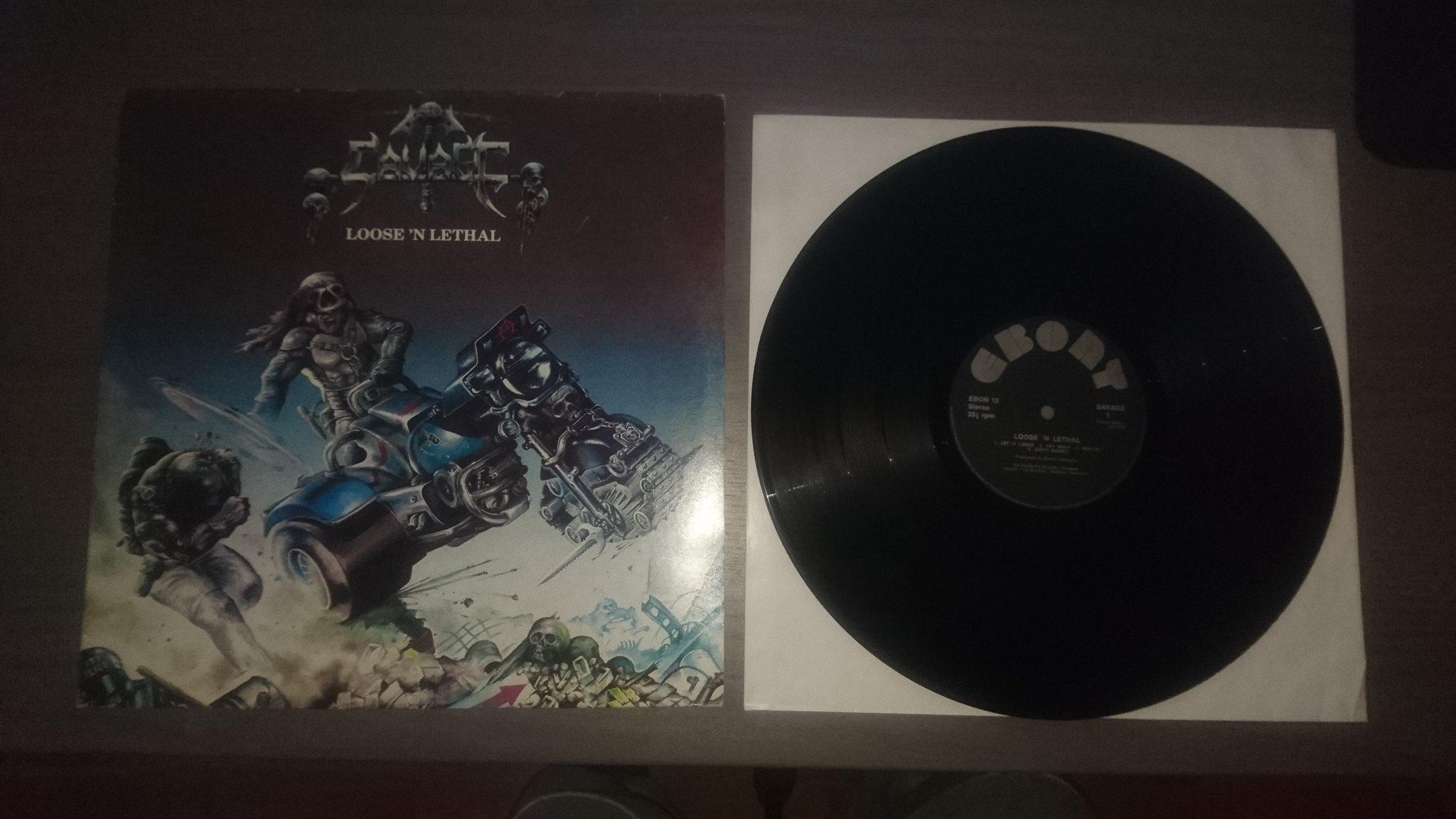 SAVAGE Loose 'N Lethal (1983) Heavy Metal ANGLETERRE 28479710