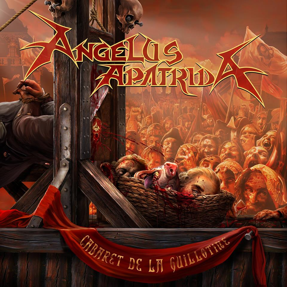 ANGELUS APATRIDA Cabaret de la Guillotine (2018) Thrash Espagne 28685610
