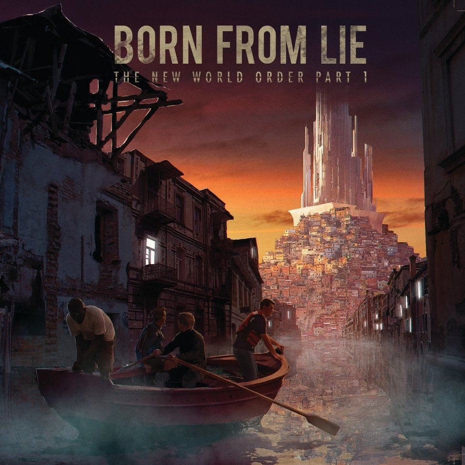 BORN FROM LIE The New World Order, Pt. 1 (2018) Hard Rock/Heavy Metal Paris 28950910