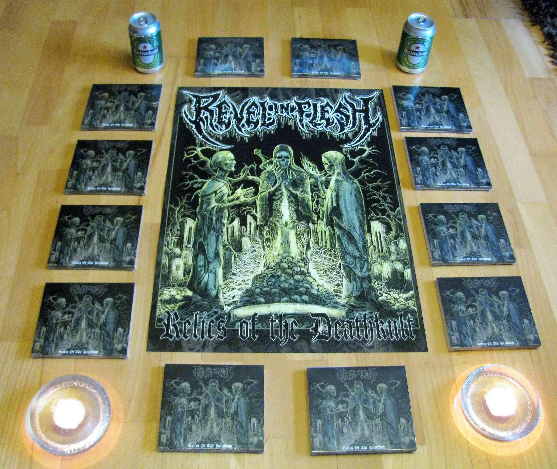 REVEL IN FLESH Relics of the Deathkult (2018) Death Metal ALLEMAGNE 28953810
