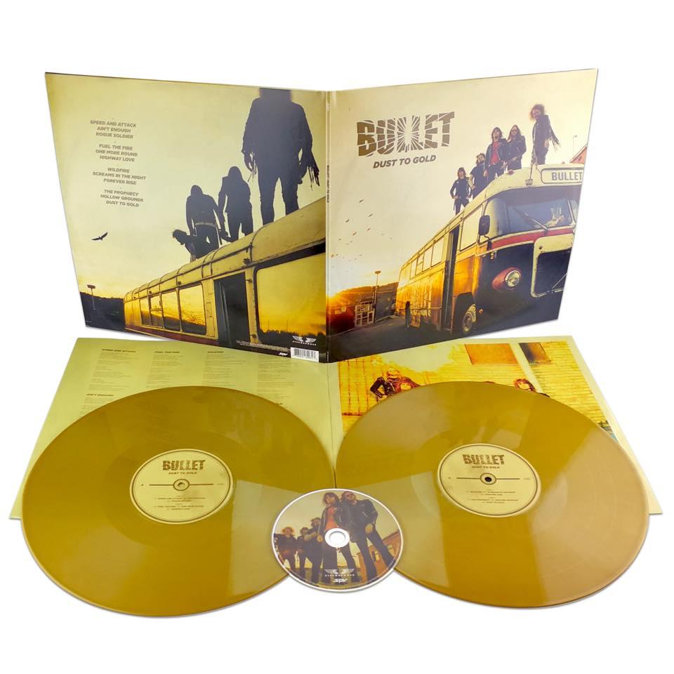 BULLET Dust to Gold (2018) Heavy Metal Suède 29178810