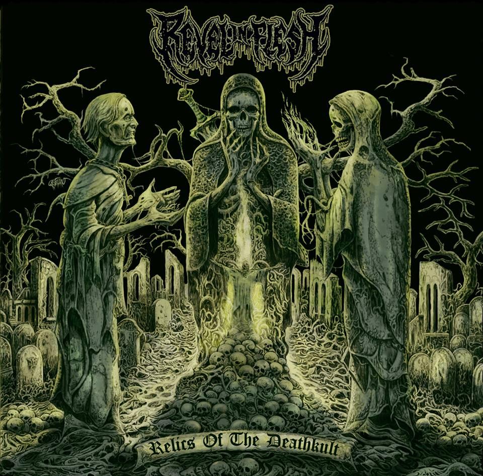 REVEL IN FLESH Relics of the Deathkult (2018) Death Metal ALLEMAGNE 29216010