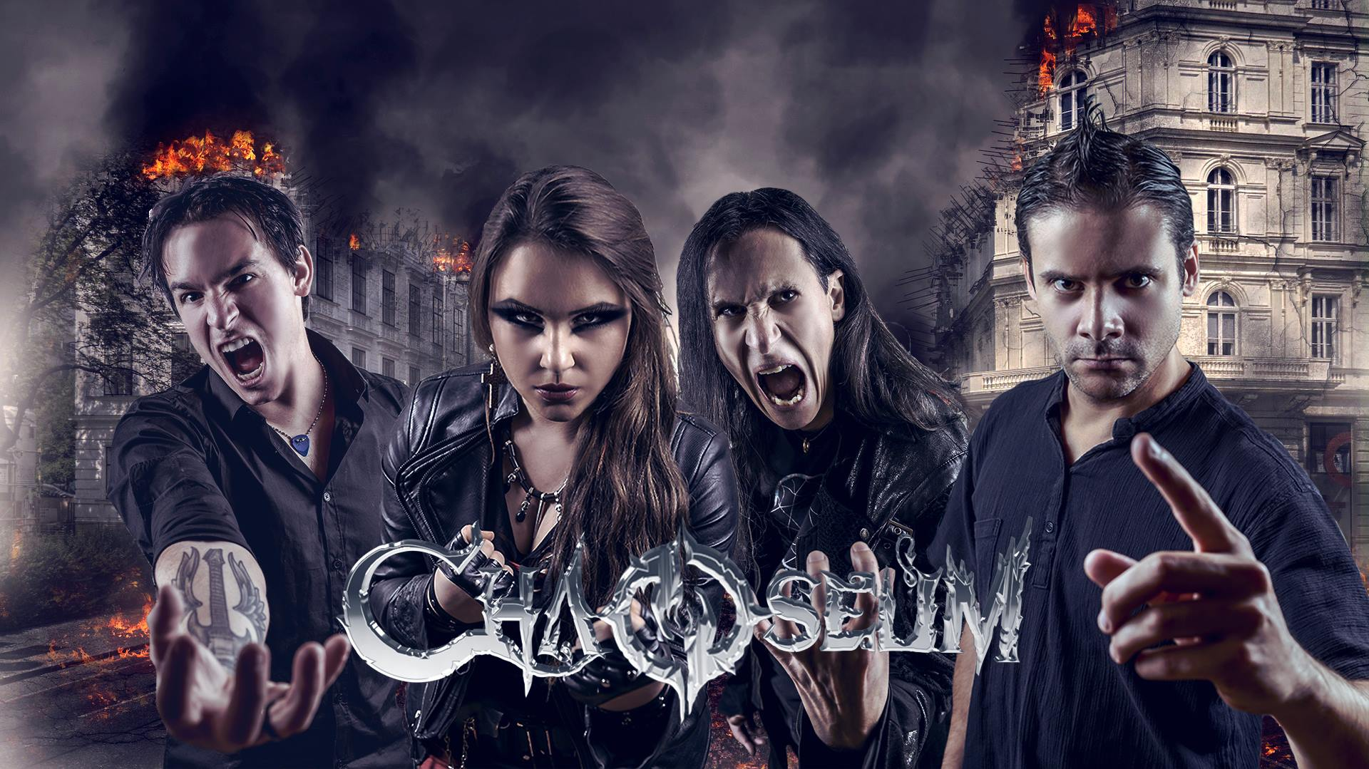 CHAOSEUM First Step to Hell (2018) Modern Melodic Death/Thrash Metal (Front Woman) SUISSE  29352210