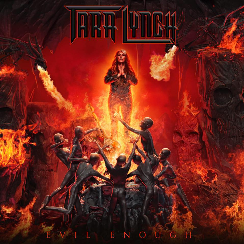 TARA LYNCH Evil Enough (2018) HARD ROCK  29425510