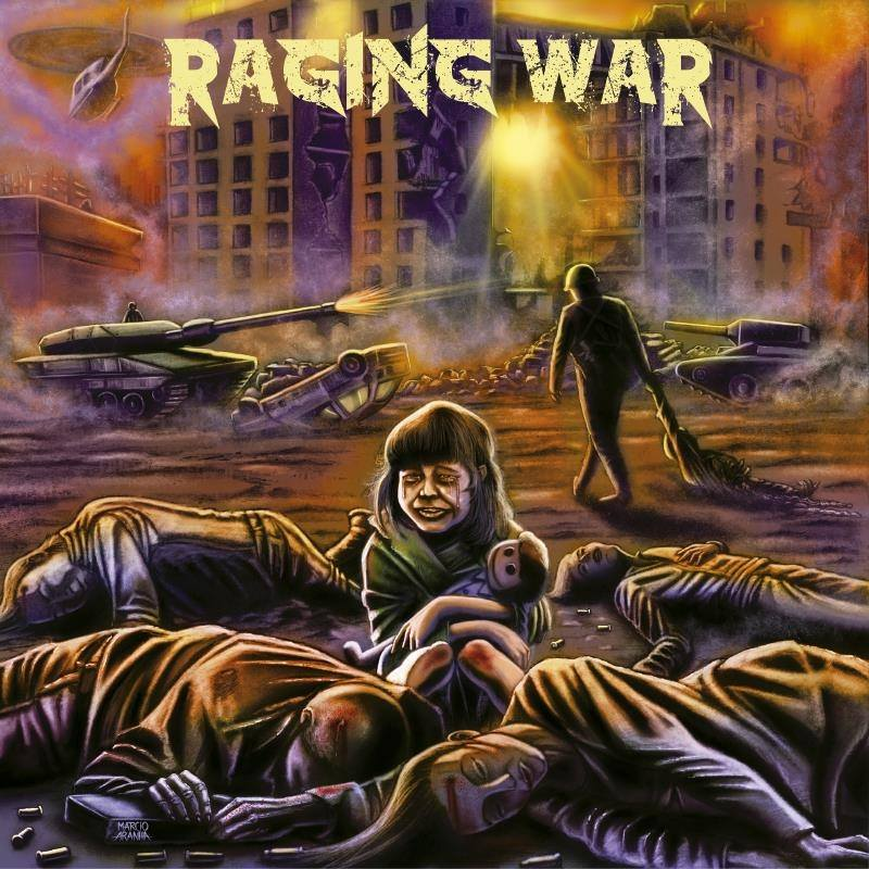 RAGING WAR Raging War (2018) Thrash BRESIL 29571310