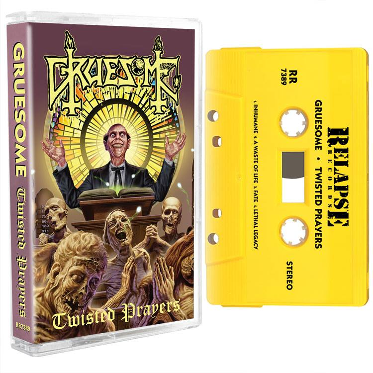 GRUESOME Twisted Prayers (2018) Death Metal USA 29598210